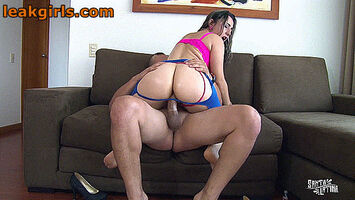 Thong to the side couch sex 1